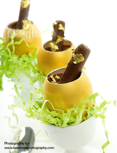 golden egg cups