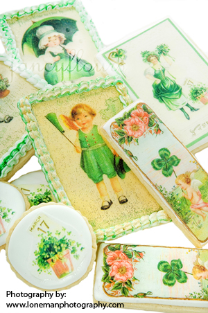 st pats day wafer paper