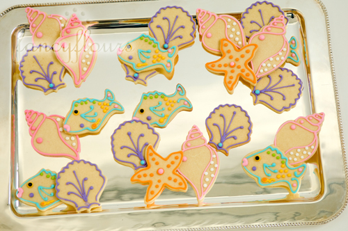 sea life cookies