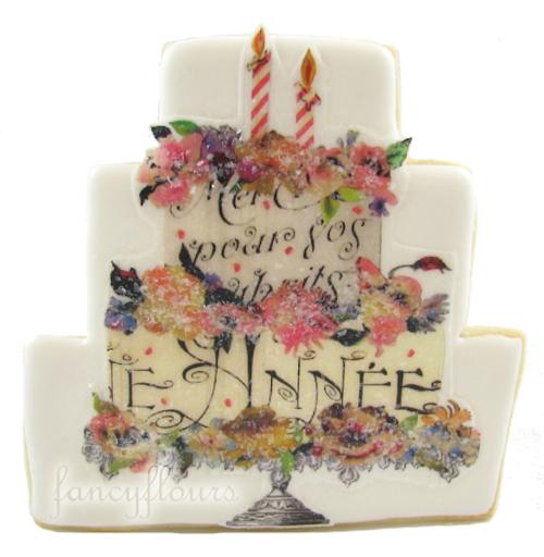 happy birthday wafer paper