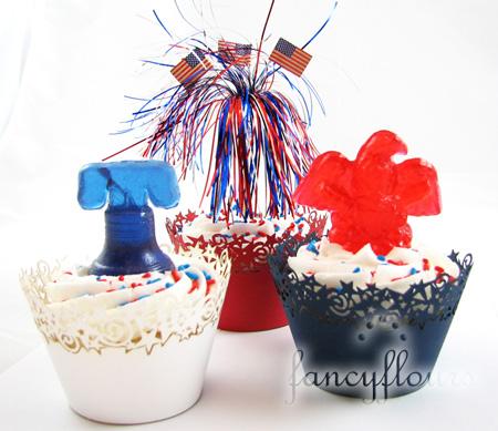 barley candy cupcakes