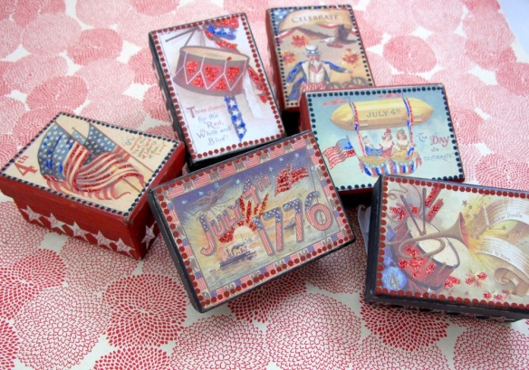 Americana Treat Boxes