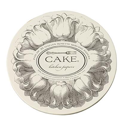 "6"" Cake Serving Paper"