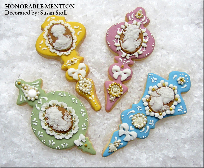 honorable mention decorated by susan stoll - Sugar Cookie Decorating