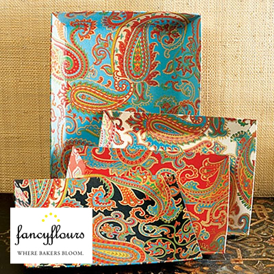 Paisley Decorative Trays