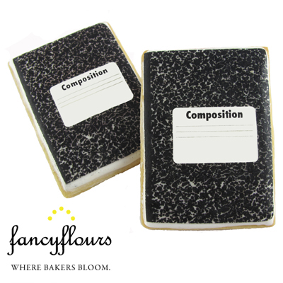 Composition Book Wafer Paper