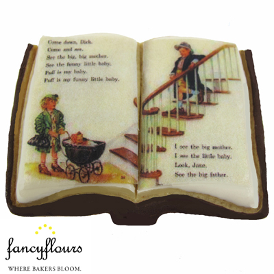 Dick and Jane Book Wafer Paper