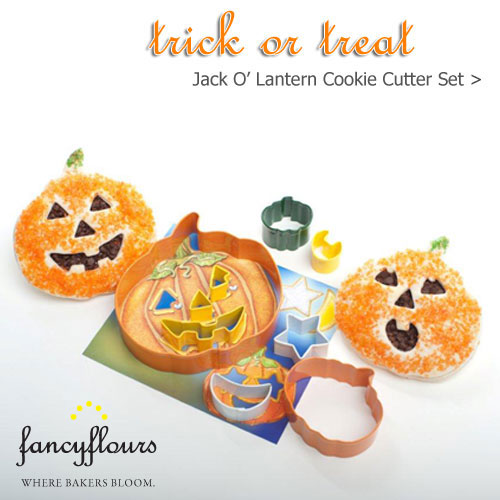 Jack O' Lantern Cookie Cutter Set