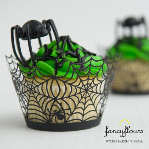 Spider Cupcake Wrapper