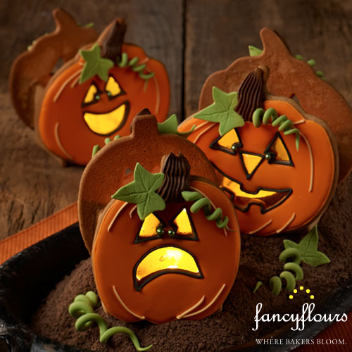 Julia Usher's Jack O Lantern Votives Project Kit