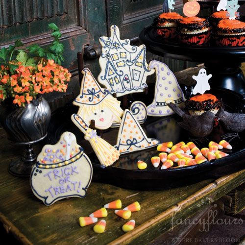Halloween ArtGirl™ Sugar Cookies