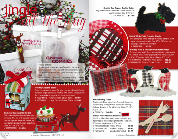 Fancy Flours Holiday Catalog 2011 - Sneak Peek