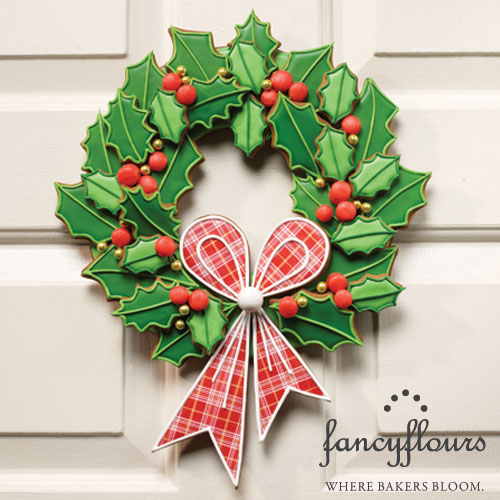 Julia Usher's Boughs of Holly Wreath Project Kit