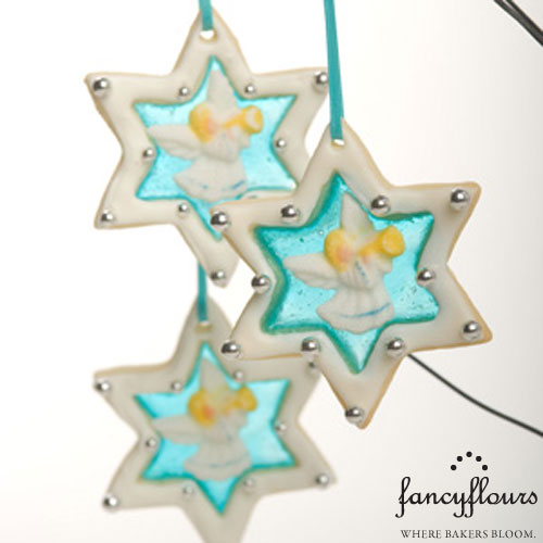 Cookie Star Ornaments