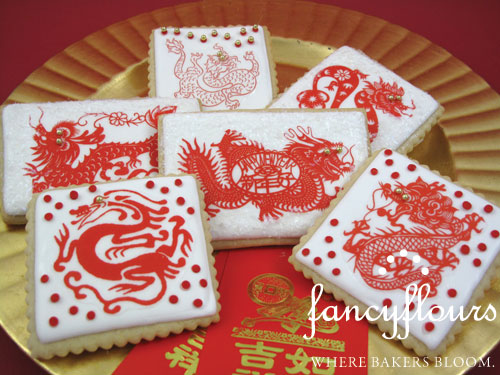 Year of the Dragon Wafer Paper