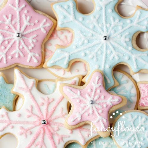 Pastel Christmas Cookies