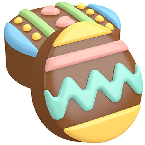 Chocolate Covered Oreos® Easter Eggs Cookie Mold