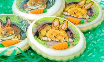 Sweet Bunnies Wafer Paper