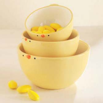 Baby Chick Snack Bowls