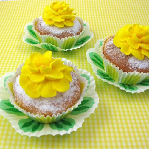 Spring Tea Cupcakes