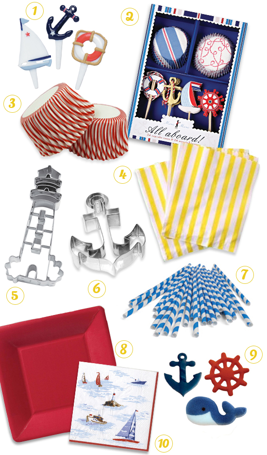 Nautical Party Theme Supplies