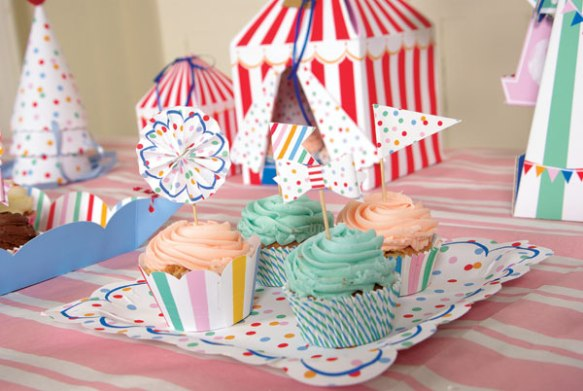 Circus Birthday Partyware