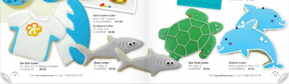 Beach Themed Cookie Cutters