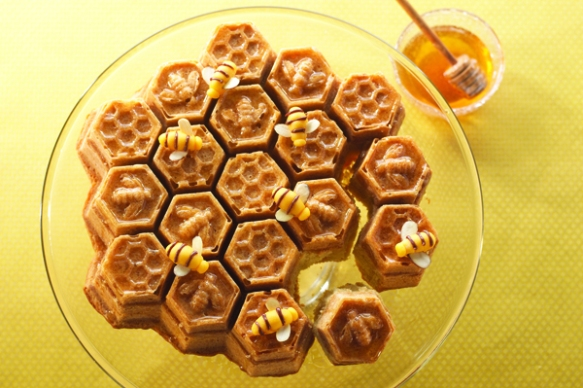 Honeycomb Cake Pan & Recipe