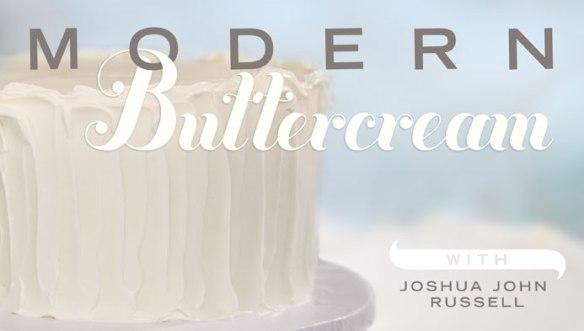 Modern Buttercream Cake Decorating Class