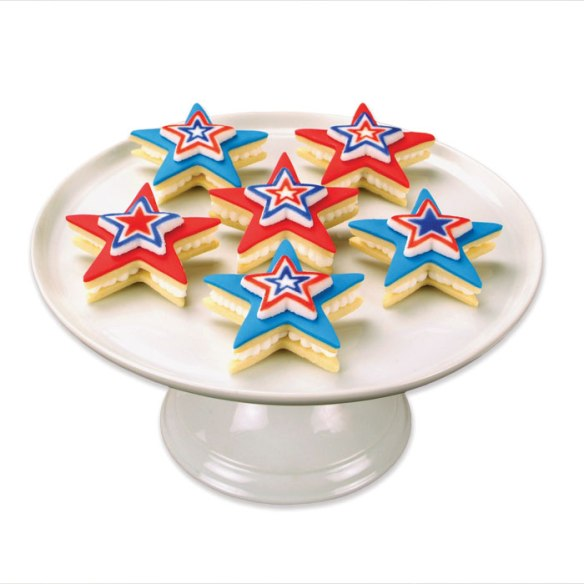Patriotic Star Cookies