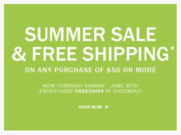 Summer Sale - Free Shipping
