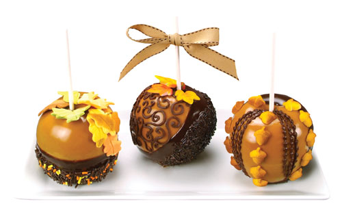 Fall Candy Apples