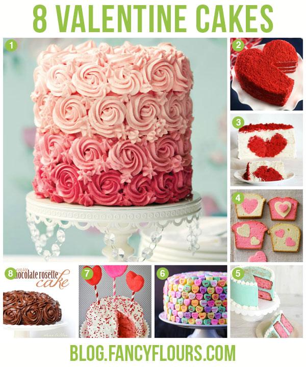 Außergewöhnlich Valentine Cakes