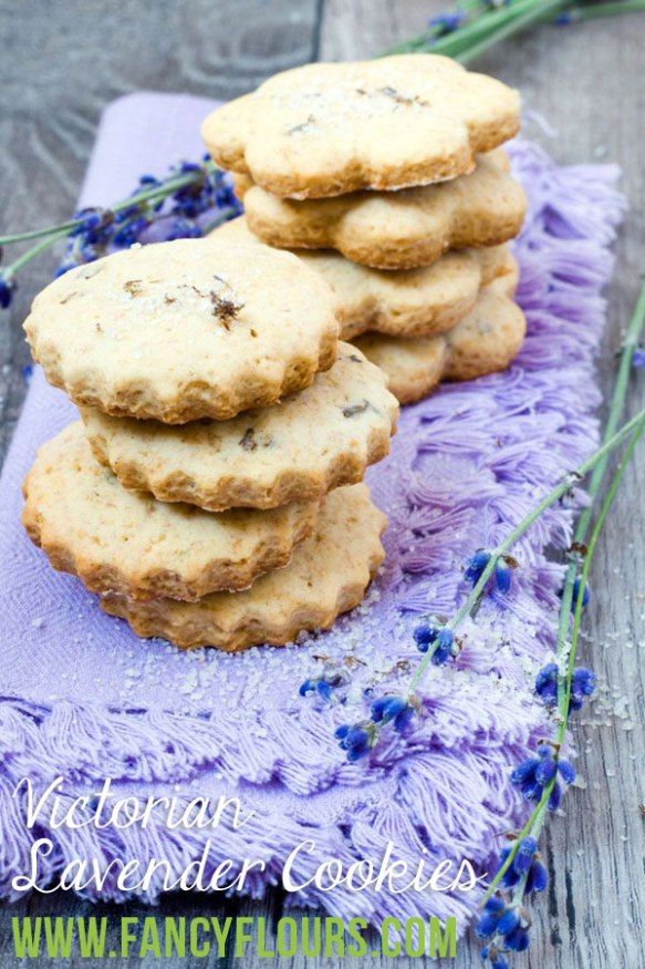 Victorian Lavender Cookies Recipes