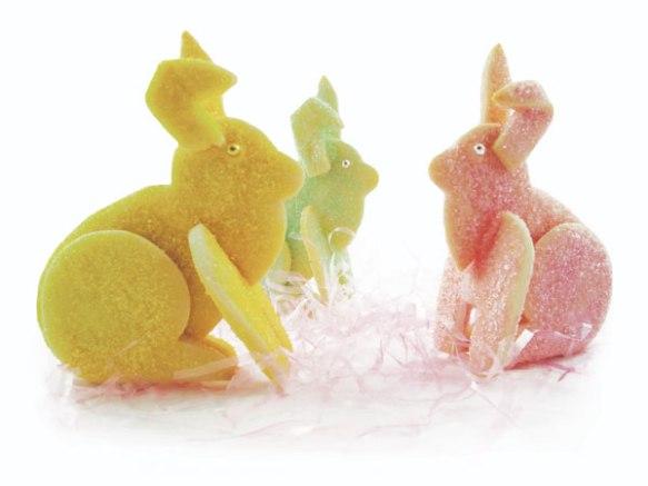 3D Easter Bunny Cookies