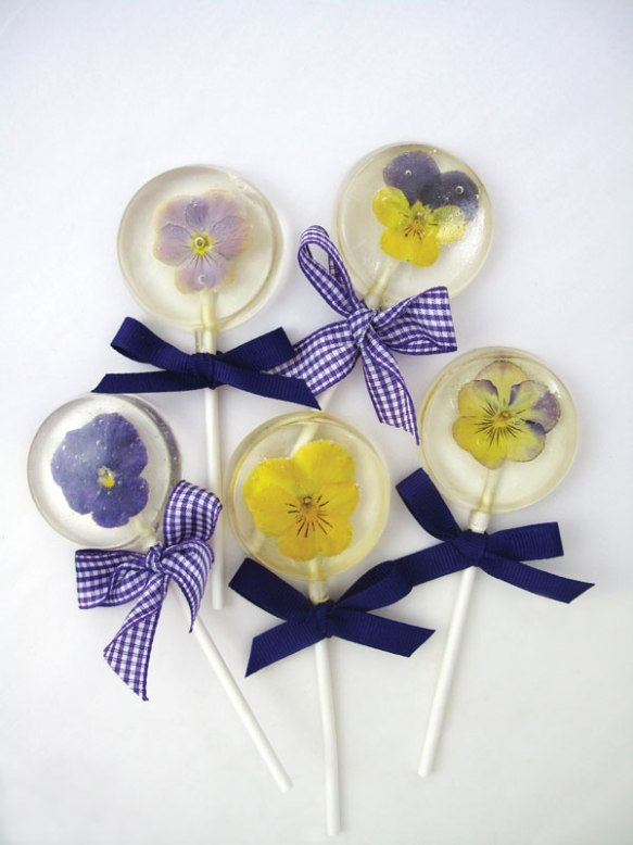 flower-lollipops