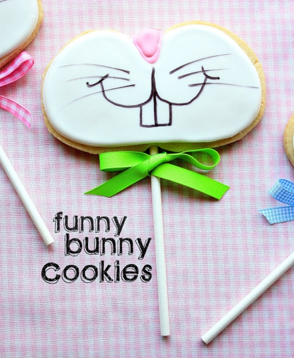 Funny Bunny Cookies