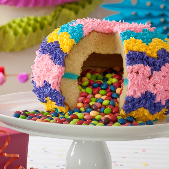 Pinata Cake Pan Recipes