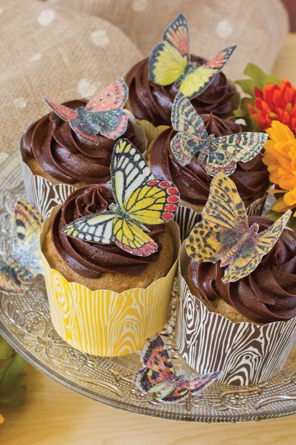 Wafer Paper Butterflies