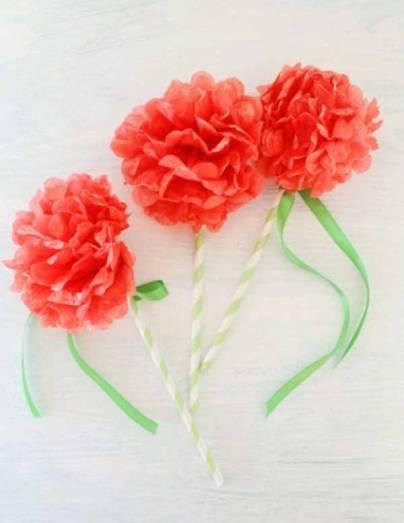 Flower-wands
