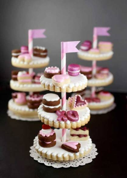 Tiered-cookie-cake-stand