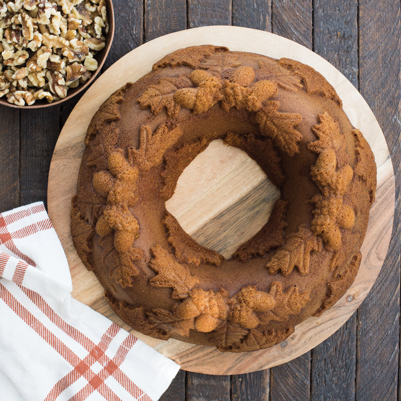 Festive Autumn Wreath Bundt Fancy Flours Where Bakers Bloom
