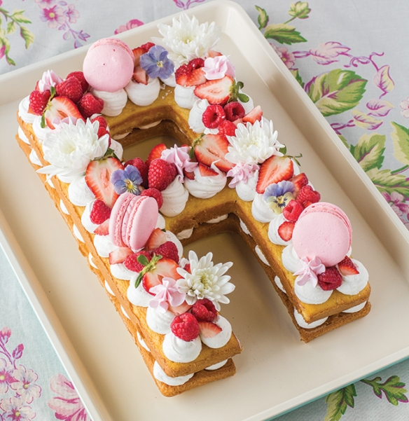 Number Cake Letter Monogram CakeWhatever You Call Them We Are In Love With These Trendy Layered Cakes Topped Fruit Flowers Macarons