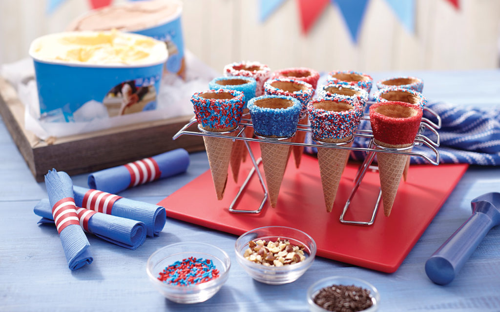 red-white-blue-ice-cream-cones